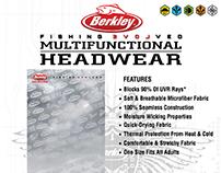 Berkley Fishing Evolved Multifunctional Headwear