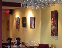 Exposition 2013 au restaurant Le Faimfino