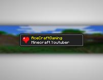 AceCraftGaming Banner