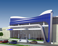 The New Wave: Hyundai Showroom Renovation