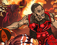 【NBA】Fire Bulls Attack