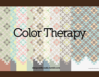 Color Therapy Geometric Patterns