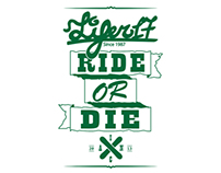 "T-shirt for Lifer17 ""Ride or die"""