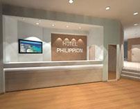 Hotel Philippion in Kos Island (3d proposals)