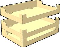 Shelf Ready Tray/Shelf