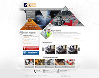 Makina Sektörü Web Sitesi