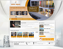 İnşaat Sektörü Web Sitesi