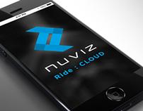 Nuviz Motorcycle HUD & App Design