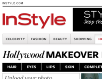 inStyle Hollywood Virtual Makeover