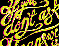 IF YOU DON'T ... Quotes