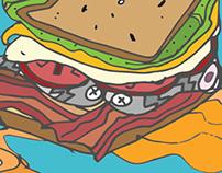 Pirate Egg Sandwich