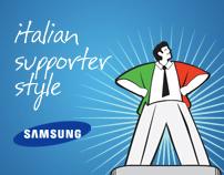 Samsung - Italian supporter style