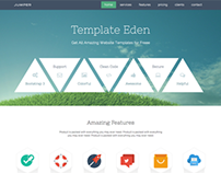 Jumper – Single Page Responsive Website Template