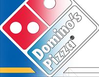 Domino's Pizza Signage