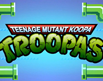 Backgrounds/objects for Teenage Mutant Koopa Troopas