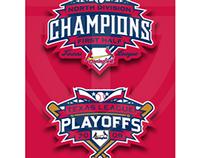 2009 Springfield Cardinals Playoff Logos