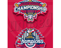 Unused Springfield Cardinals playoff logos