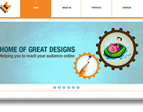 Web Templet design http://www.thecreativegarage.com/