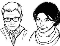 Contributing writers - portraits
