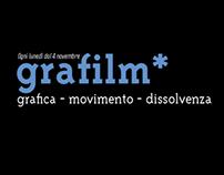 grafilm* / grafica - movimento - dissolvenza