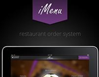 iMenu - Restaurant Order System
