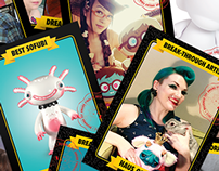 DTA Trading Cards