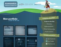 Professionnal Portfolio, Equesdesign.com