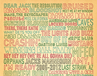 Jack's Mannequin Song Titles Poster