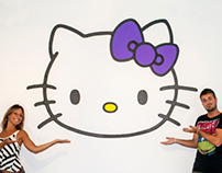 "MURAL ""Hello Kitty"""