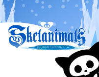Skelanimals Snowball iPhone game