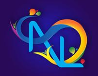 Nikhil Lokhande Swirls Typography