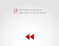 Cartell Guanyador Día Internacional Seguretat Laboral