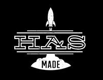HAS Made Logo and Website