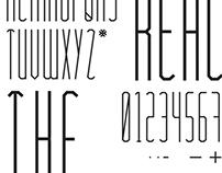 reach the sky / création typographique
