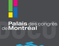 palais des congrès / affiche infographique