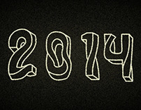 2014 hand drawn type