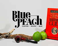 Blue Peach Identity