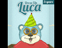 Minti Kids Dress Up Luca (Game) - Original Music, Vocal