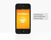 Foodworks Website, Mobile and App