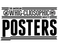 American Whig-Cliosophic Society Event Posters