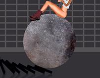 Miley Editorial Illustration