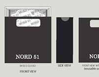 Nord51 Online Shirt store - Packaging