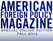 American Foreign Policy Magazine Covers