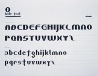 Hole Font - Typeface