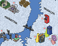 NYCC Comic Book Locations Map