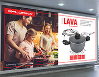 Florina - outdoor advertising campaign