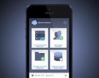 Server Control App UI