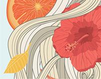 Tranquila Tea // Logo and Package Design