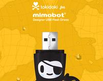 tokidoki X MIMOBOT (series 1) promotional images