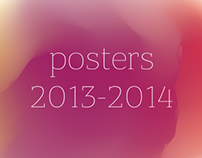 Poetry and lectures posters 2013-2014